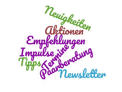 Wortwolke Newsletter