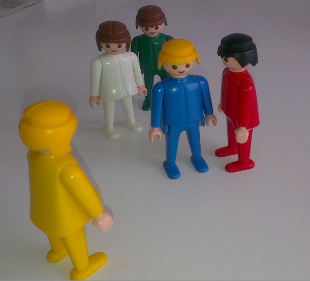 Systemische Familienaufstellung mit Figuren